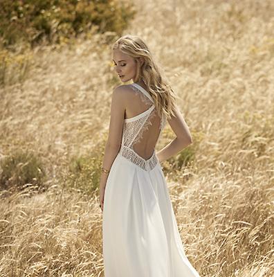 robe de mariée dos nu dentelle diva toulouse