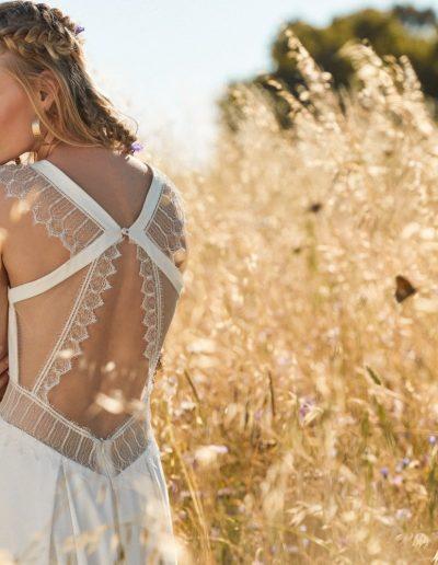 robe de mariée dos vertigineux dentelle et transparence Diva Toulouse