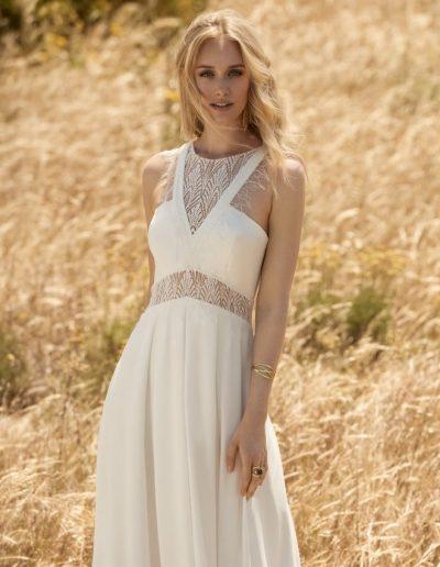 robe de mariée fluide dentelle Diva Toulouse